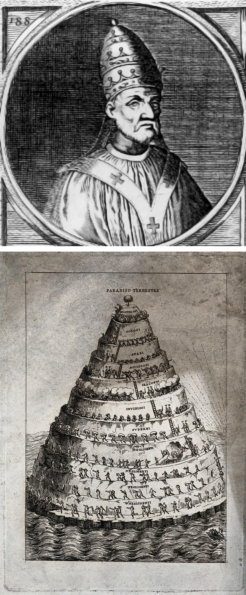 Papa Martino IV - Purgatorio